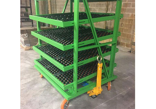 Flow Rack Trolley Cart
