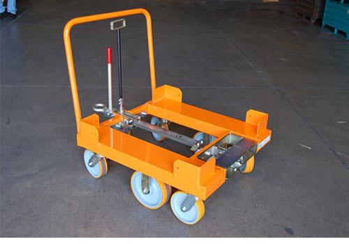 6 Wheel Static Cart