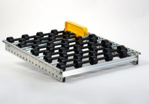 Drop in Roller Tracks with Optional Lane Divider