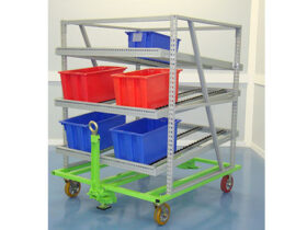LINEFlow™ Attached to Trolley Cart