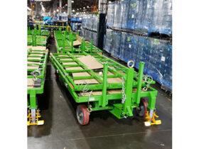 115x50 Cart Unassembled Bulkhead