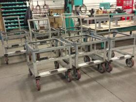30x30 Rotating Wheel Carts