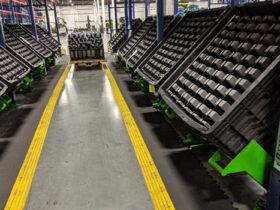 45 Degree Tilt Stands in Factory