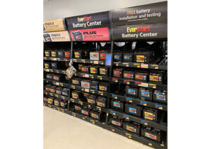 Track Systems Battery Flow Rack